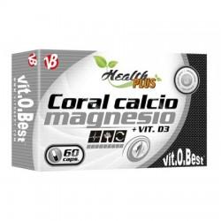 Coral Calcio + Magnesio con Vit D3 60caps