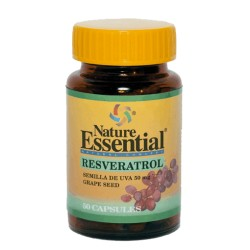 RESVERATROL semilla de uva 50caps
