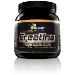 CREATINE 1250  400 MEGA CAPS