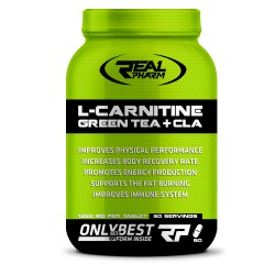 L-CARNITINE, GREEN TEA & CLA 90caps
